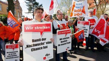 Streikdemo in Berlin 2014